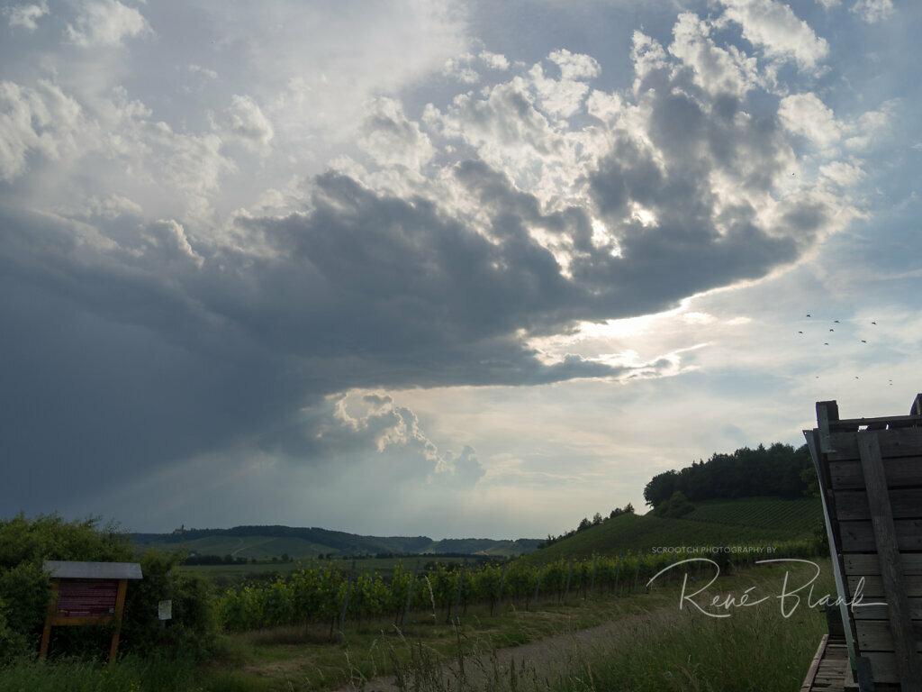 Wetterfront zieht übers Zabergäu